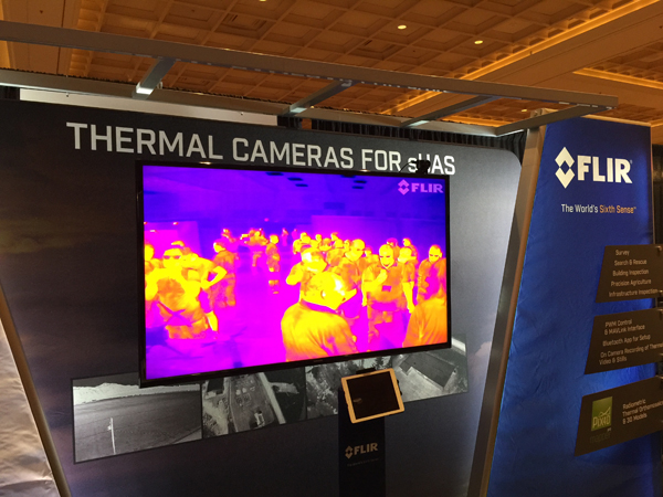 InterDrone-FLIR-booth