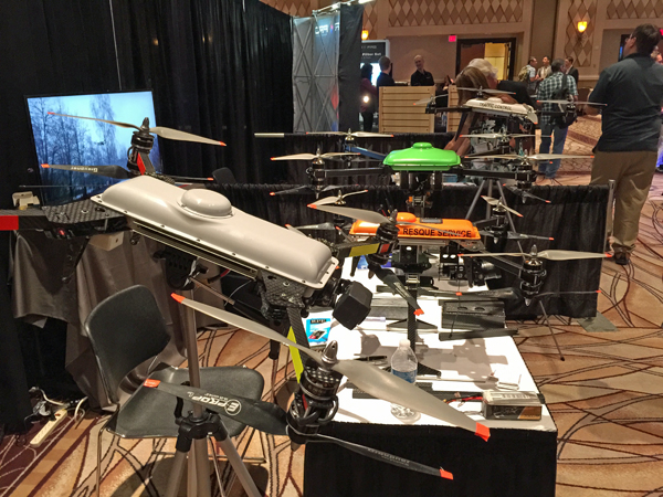 Inter-Drone-UAV-display