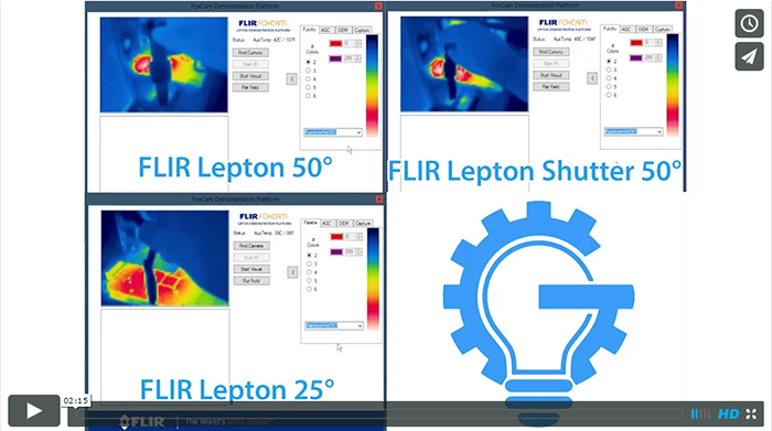 Lepton comparison video image and link.